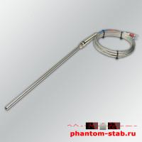 Датчик температуры термопара тип К +400°C в щупе 200мм